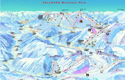 Vallnord Ski Map